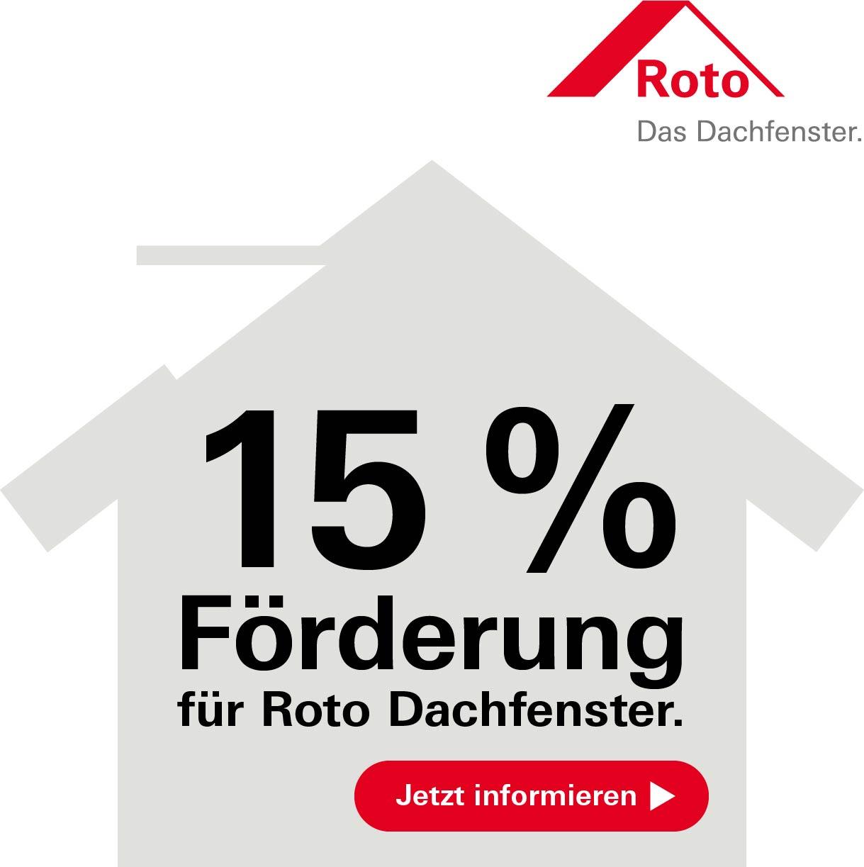 Roto Förderung für den Bauherrn